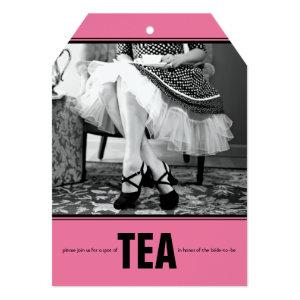 Retro Bridal Shower Tea Party Invite starting at 2.76