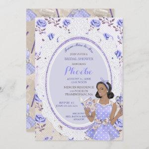 Retro Vintage Housewife 50's Bridal Shower Ethnic Invitation starting at 2.55
