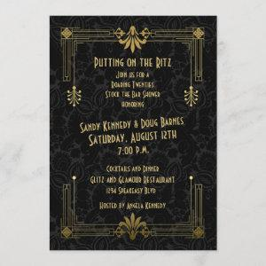 Roaring 20s Art Deco Couple's Bridal Shower starting at 2.66
