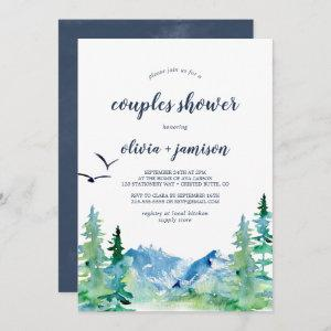 Rocky Mountain Couples Shower Invitation starting at 2.51