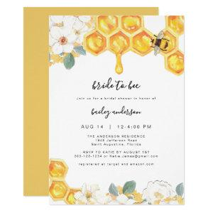 Romy - Floral Honey Bumble Bee Bridal Shower Invitation starting at 2.55