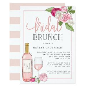 Rosé Garden | Bridal Brunch Invitation starting at 2.26