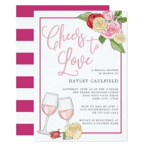 Rosé Garden | Bridal Shower Invitation starting at 2.36