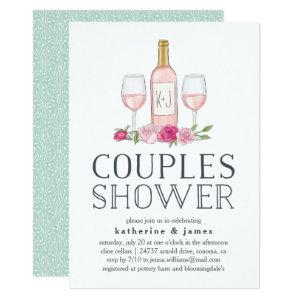 Rosé Garden | Couples Shower Invitation starting at 2.26