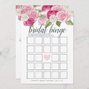 Rosé Garden Double-Sided Bridal Shower Game Invitation starting at 2.51