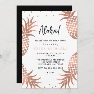 Rose Gold Pineapple Luau Party starting at 2.56