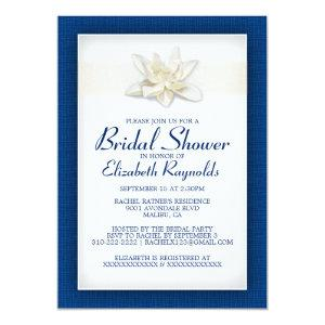 Royal Blue Bridal Shower Invitations starting at 2.66
