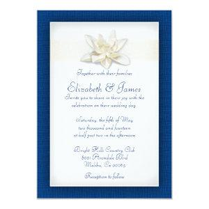 Royal Blue Wedding Invitations starting at 2.66