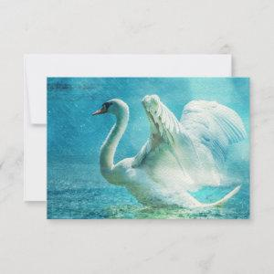 RSVP Magical Swan During a Summer Shower starting at 2.60