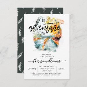 Rustic Autumn Forest   Bridal Shower Invitation starting at 2.06