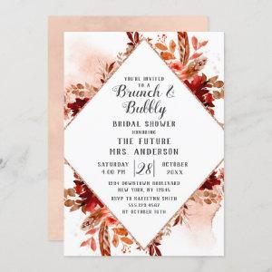 Rustic Beauty Floral Brunch & Bubbly Bridal Shower starting at 2.55