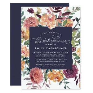 Rustic Bloom Bridal Shower Invitation starting at 2.51