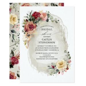 Rustic Bloom Bridal Shower Invitations starting at 2.51