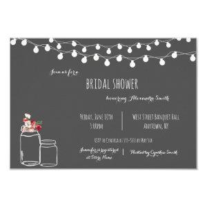 Rustic chalkboard bridal shower invitations starting at 1.95