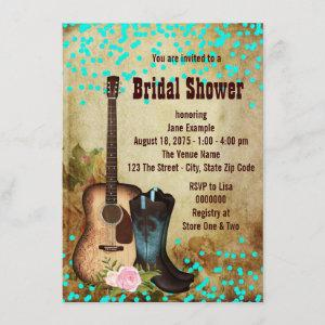Rustic Country Bridal Shower Invitation starting at 2.20