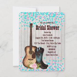 Rustic Country Bridal Shower Invitation starting at 2.40