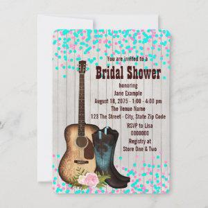 Rustic Country Cowgirl  Bridal Shower Invitation starting at 2.40