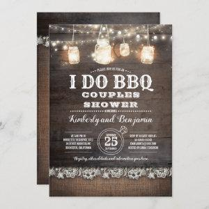 Rustic Country - I DO BBQ Couples Shower Invitation starting at 2.51