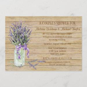 Rustic Country Mason Jar French Lavender Bouquet starting at 3.03