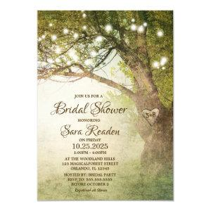 Rustic Country String Lights Bridal Shower Invite starting at 2.65