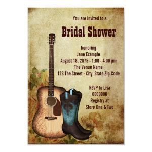 Rustic Cowgirl Bridal Shower Invitation starting at 2.21