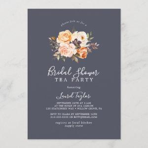 Rustic Earth Floral Purple Bridal Shower Tea Party starting at 2.51