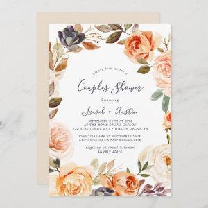 Rustic Earth Florals Couples Shower Invitation starting at 2.51