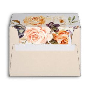 Rustic Earth Florals Wedding  Envelope starting at 0.85