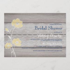 Rustic Floral and Lace Bridal Shower Invitation starting at 2.35