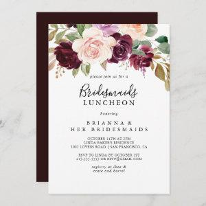 Rustic Floral Bridesmaids Luncheon Shower starting at 2.51