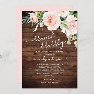 Rustic Floral Brunch And Bubbly Bridal Shower starting at 2.40