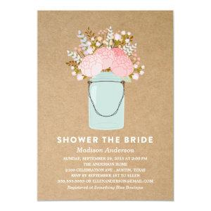RUSTIC FLOWERS    BRIDAL SHOWER INVITATION starting at 2.51