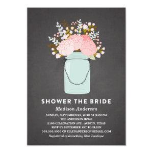 RUSTIC FLOWERS | BRIDAL SHOWER INVITATION starting at 2.51