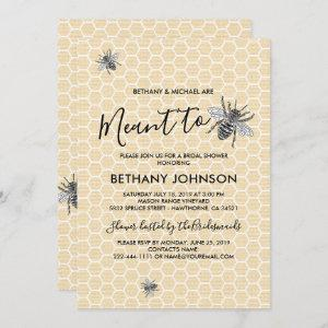 Rustic Meant to Bee Bridal Shower starting at 2.40