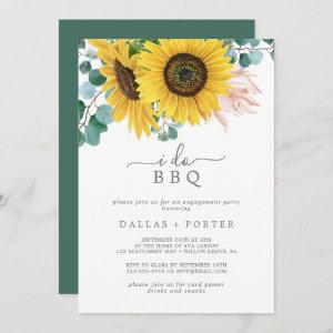 Rustic Sunflower I Do BBQ Engagement Party starting at 2.51