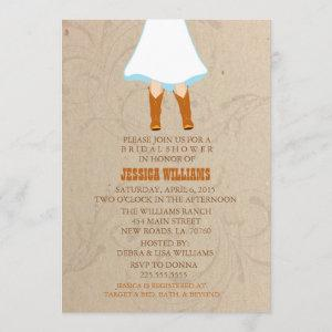 Rustic Western Bridal Shower Invitations starting at 2.56