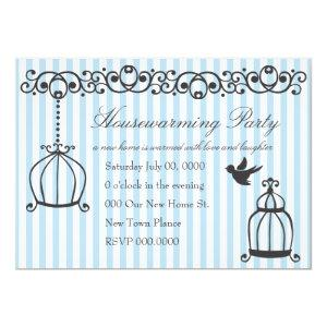 Scrollwork Birdcages Invitation starting at 2.82