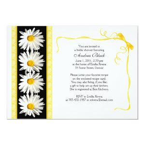 Shasta Daisy Wedding Bridal Shower Invitation starting at 2.66