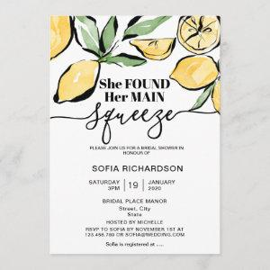 She found her main squeeze lemon BOHO SUMMER Invitation starting at 2.66