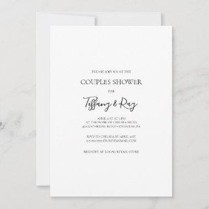Simple Elegant Couples Shower starting at 2.51