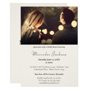 Simple Modern and Stylish With Initial Wedding Invitation starting at 2.40