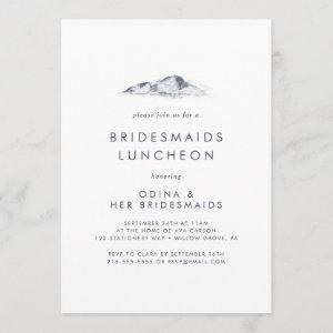 Simple Mountain Bridesmaids Luncheon Invitation starting at 2.51