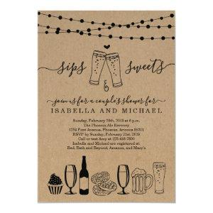 Sips and Sweets Beer and Desserts Invitation starting at 2.61