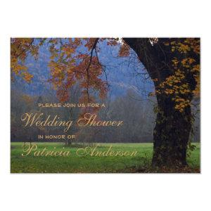 Smoky Mountain Wedding Bridal Shower Invitation starting at 3.08