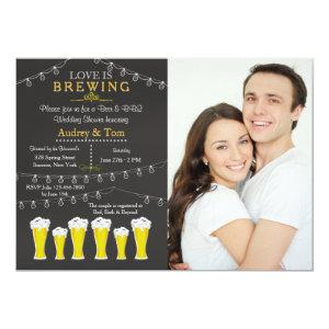 Something's Brewing Photo Wedding Shower Invitatio Invitation starting at 2.56
