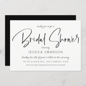 Sophisticated Chic Bridal Shower Invitation starting at 2.55