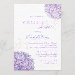 Southern Hydrangea Blooms Spring Wedding Shower Invitation starting at 2.66