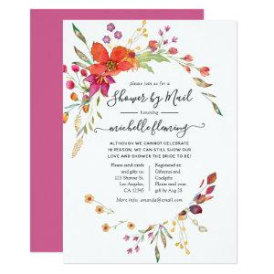 Spring Wild Flower Bridal Shower by Mail Invitation starting at 2.66