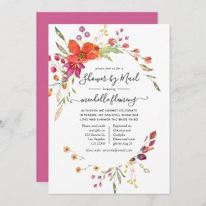 Spring Wild Flower Bridal Shower by Mail Invitation starting at 2.51