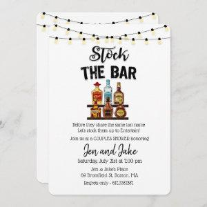 Stock the Bar Couples Coed Shower Invitation starting at 2.81